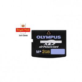 2GB XD MEMORY CARD TYPE M+ XD-PICTURE CARD OLYMPUS FUJI - 100% Genuine
