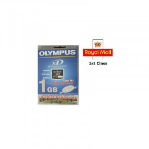 1GB HIGH SPEED OLYMPUS XD MEMORY CARD 1 GB TYPE M+ FUJI FINEPIX/OLYMPUS CAMERAS