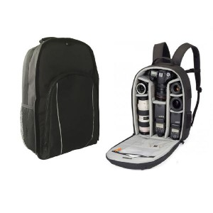 Super PRO DSLR SLR Camera Rucksack Case Bag Backpack For Canon EOS Digital etc