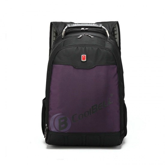 "Purple 17"" Laptop Backpack with Tablet/ eReader Pocket - 2057"